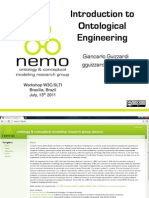 Introdução a Engenharia de Ontologias