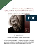 Peter Sloterdijk Experimentos Con Uno Mismo