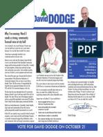 Elect David Dodge 8 page newsletter