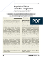 Diagnóstico Toxoplasmose