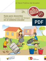 Folleto Docentes Dengue