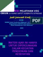 USG Intensif 2. Introduksi Pelatihan USG RSPAD JJE 20090610