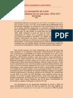Crítica Marxista Leninista - Van Ree - La concepción de Lenin sobre el socialismo en un solo país, 1915-1917 (2010)