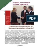 Está colombia preparada para un cambio en su economia.