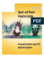 ANSYS Signal Power-Integrity Update
