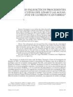 Dos Rodetes Paleoliticos Procedentes de Cantabria