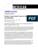 Energy Conservation Comes of Age on the Battlefield_Brent M Eastwood