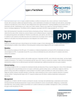 Neurofibromatosis Type 1 Factsheet