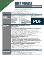 apomata resume aug 2013