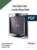 Pioneer-Presentation G5 Product Update Guide 5th Generation Plasma Models
