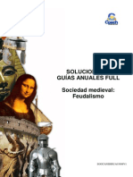 SOLUCIONARIO HU 11 Sociedad Medieval Feudalismo
