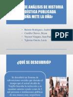 FUENTES DE HISTORIA PERIODISTICA ACUÑA METE LA UÑA