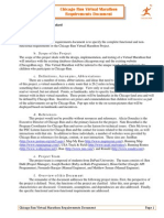 Chicago Run Requirements Document