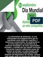 Dia Mundial Contra El Alzheimer