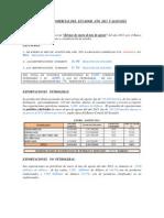 Balanza Comercial del Ecuador  de enero al mes de  agosto del año 2013 y algo más