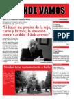 Mensuario A Donde Vamos - Octubre 2013 - N° 33