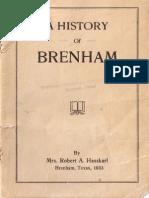 History of Brenham