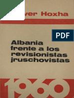 Albania frente a los revisionistas jruschovistas - Enver Hoxha (1960)