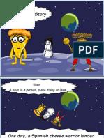 The 8 Parts of Speech ToonDoo