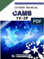 Cams 1v-2p Manual
