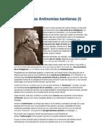 Kant Crp Resumen