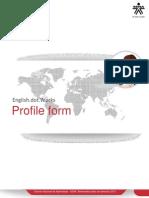Profile Form Wulf Ran