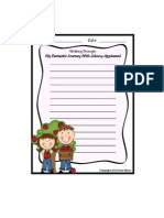 johnny appleseed writing prompt