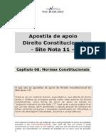 Apostila de Apoio-cap 08-Normas Constitucionais