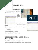 Graficando en Excel