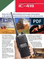 Uhfcb Ic-41s Brochure