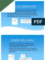 CANAL DE DERIVACIÓN