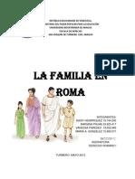 Trabajos La Familia en Roma