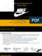 Mgt300 - Nike Strategic Analysis