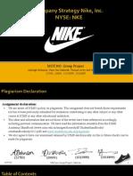Mgt300 - Nike Strategic Analysis