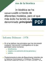 Los principios de la bioética