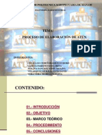 ELABORACIÓN DE ATÚN