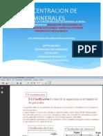 CONCENTRACION DE MINERALES.pptx