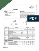 datasheet - FQA10N80