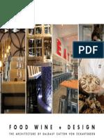 BCV Architects Portfolio - Food Wine & Design 10/13