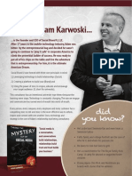 Adam Karwoski, CEO, Social Brand U, LLC
