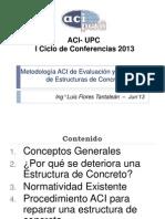 Metodología de Reparación - Patología ACI UPC