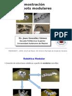Demostración de Robots Modulares. Madridbot 2009