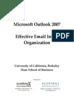 Outlook 2007 - Managing Inbox Handout