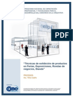 42 Técnicas de exhibición de productos en Ferias - Introducción (pag1-7)