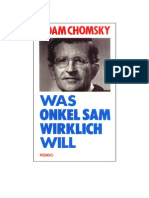 Noam Chomsky - Was Onkel Sam Wirklich Will