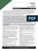 Arsenico - ATSDR (Hoja Tecnica)
