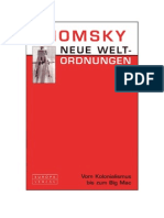 Noam Chomsky - Neue Weltordnungen - Vom Kolonialismus Bis Zum Bic Mac