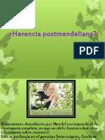 Herencia postmendeliana
