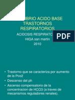 Acidosis Respiratoria