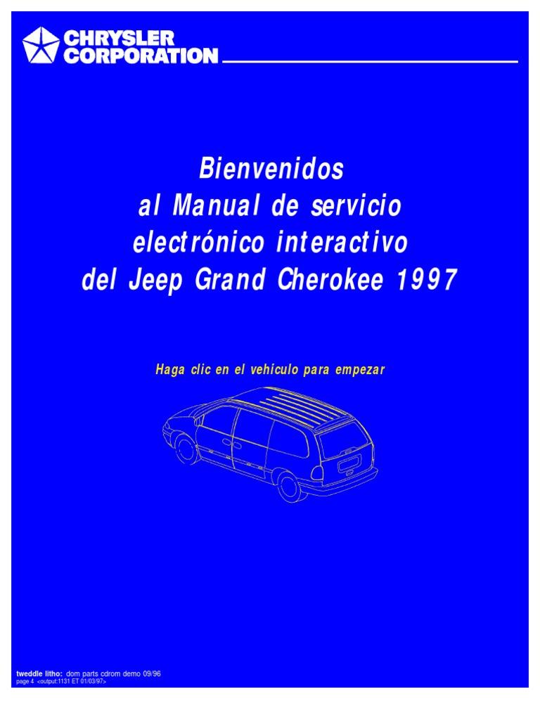 Grand Cherokee Espa U00f1ol 1997